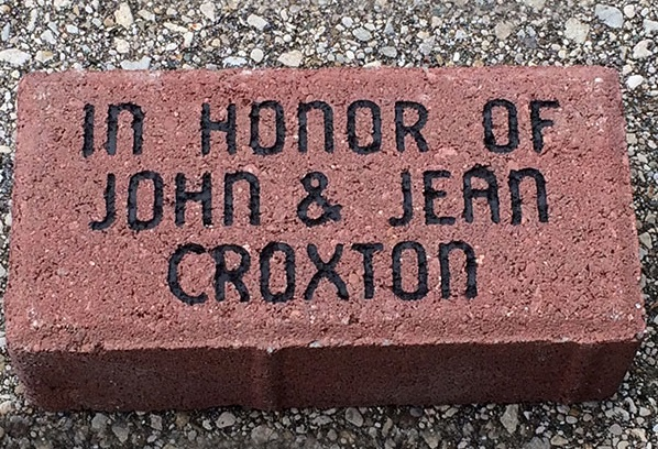 Engraved Brick Fundraising Program